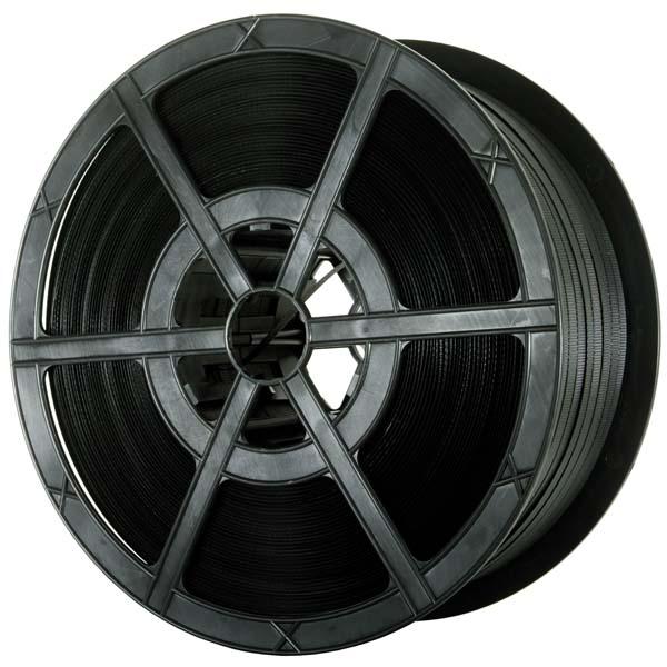 PR300 Black Polypropylene Plastic Strapping