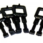 12mm Black Plastic Strapping Buckles