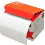 Plain White Blick Address Labels 89mm x 36mm
