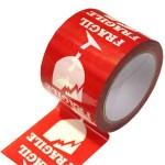 Fragile Printed Warning Labels