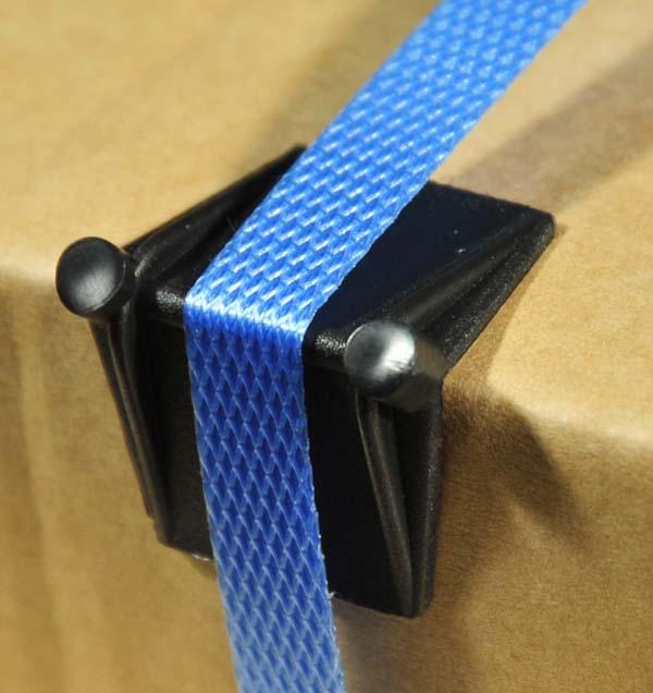 Small Plastic Edge Protectors Black