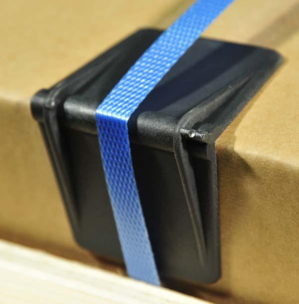 Large Plastic Edge Protectors Black