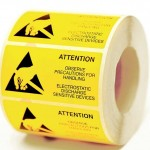Electrostatic Printed Warning Labels