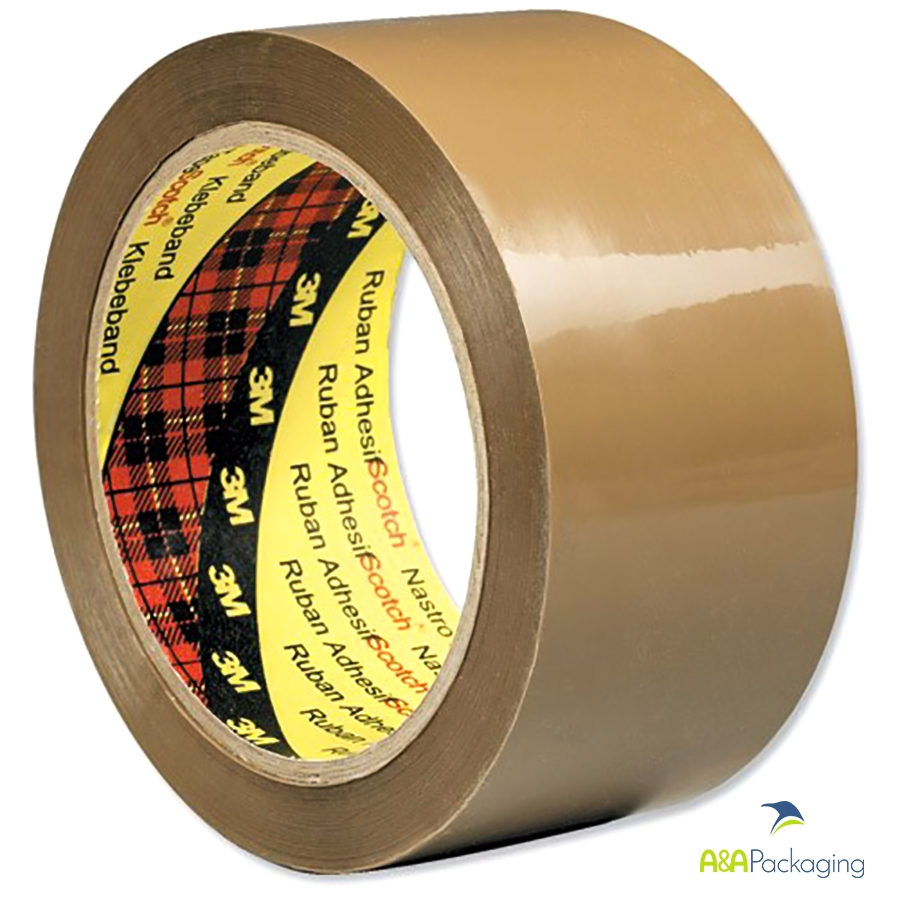 3M 3707 Brown Low Noise PP Tape