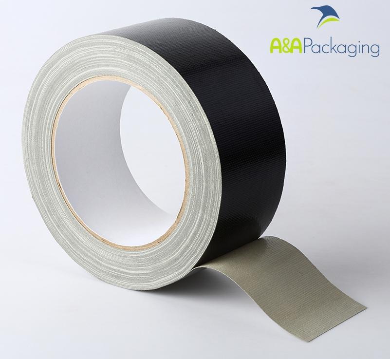 25mm Waterproof Cloth Tape Black