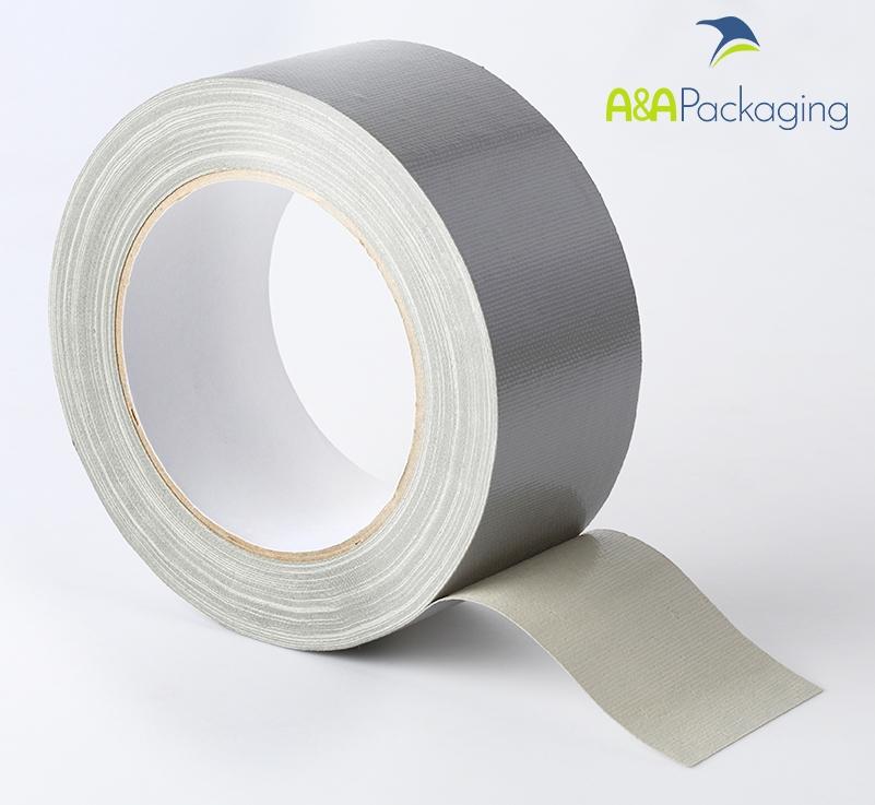 75mm Waterproof Cloth Tape Silver