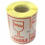 Fragile Paper Printed Warning Labels