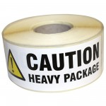 Paper Printed Warning Labels Heavy Package