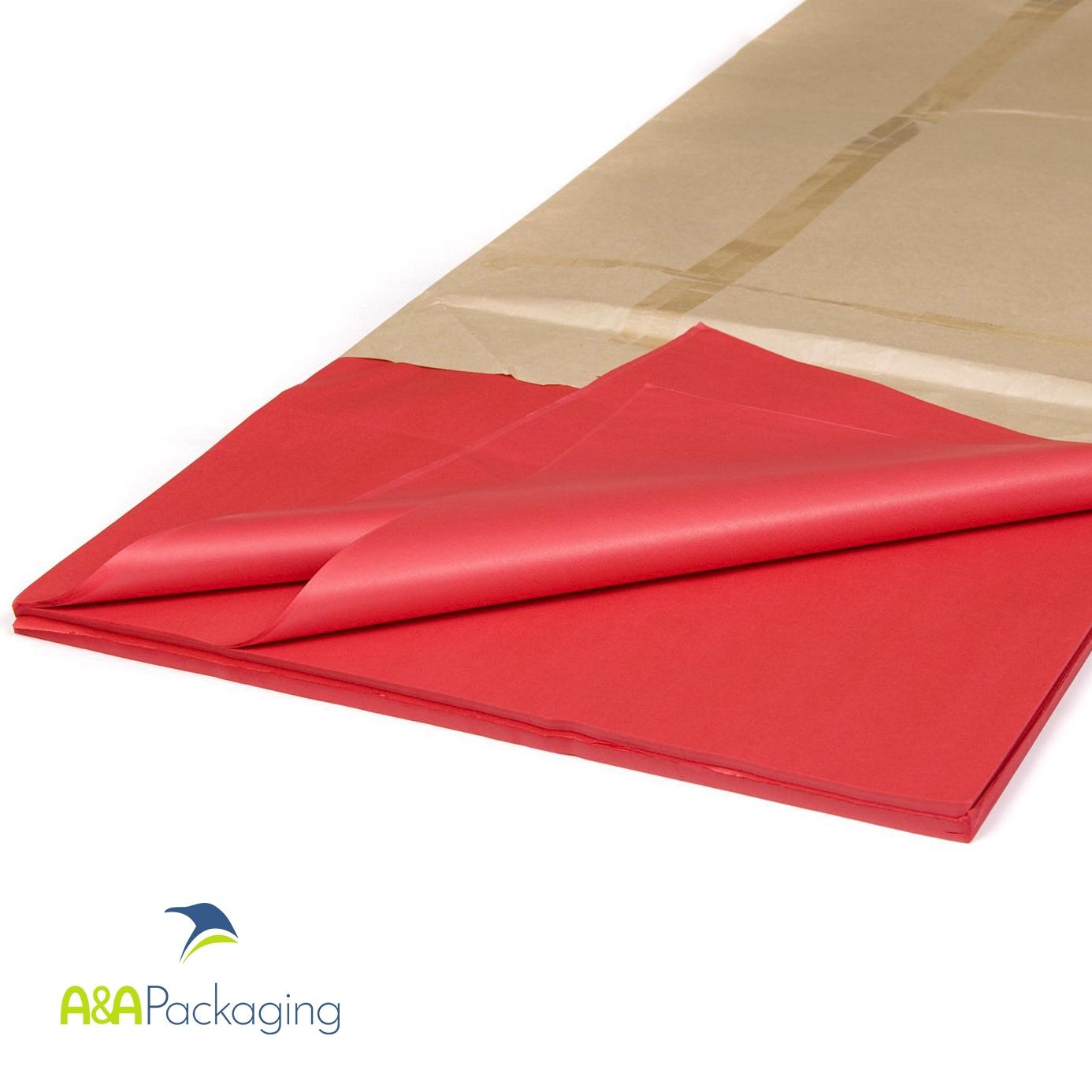 Red Acid Free Cap Tissue Paper
