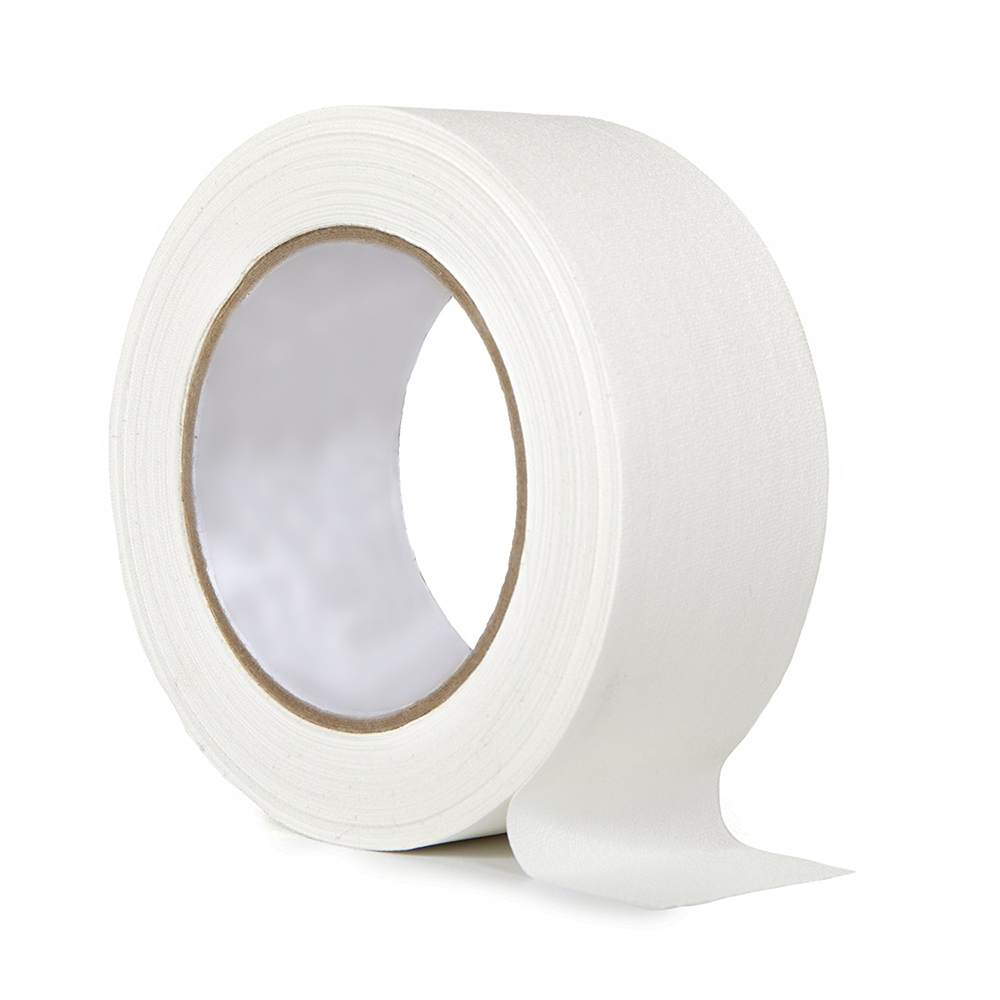 50mm Waterproof Cloth Tape White