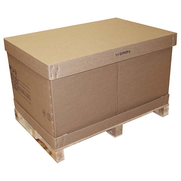 1/1 Full Cardboard Pallet Containers