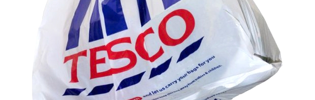 Tesco drops 5p carrier bags in trial