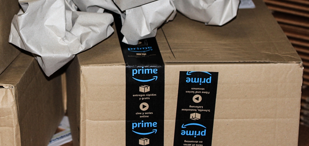 Amazon delivery contained 45ft of packaging paper