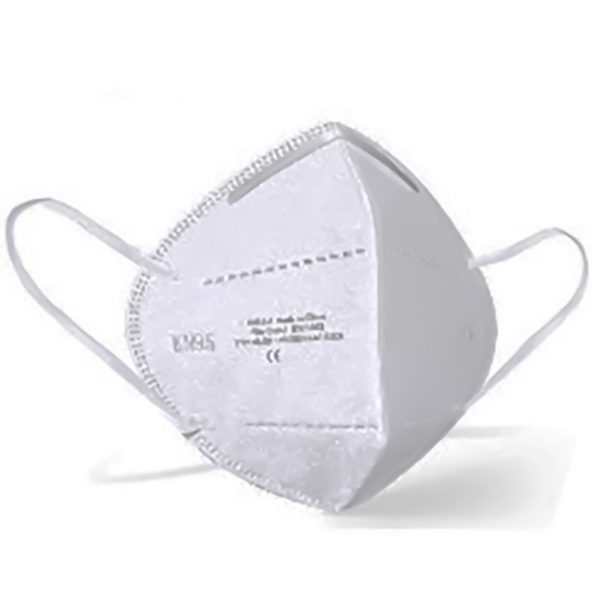 KN95 Face Mask White (non valved) CE Certified