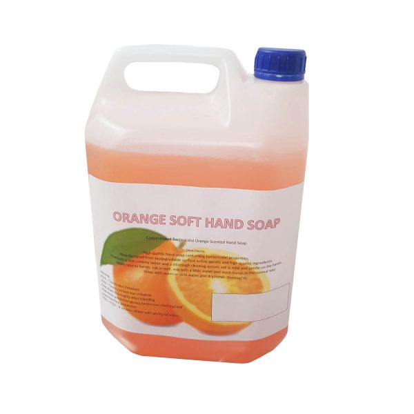Soft Antibacterial Hand Soap 5L Container
